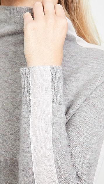 Naadam 漏斗领开司米羊绒套衫