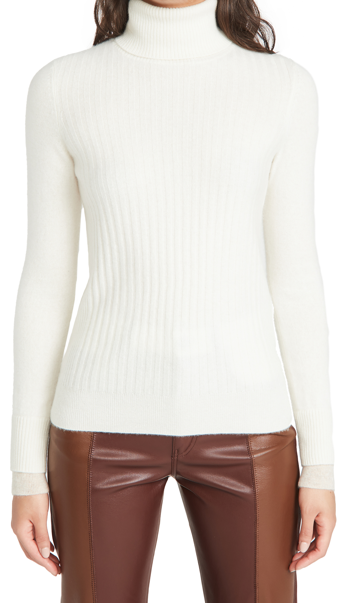 Naadam Ribbed Cashmere Turtleneck