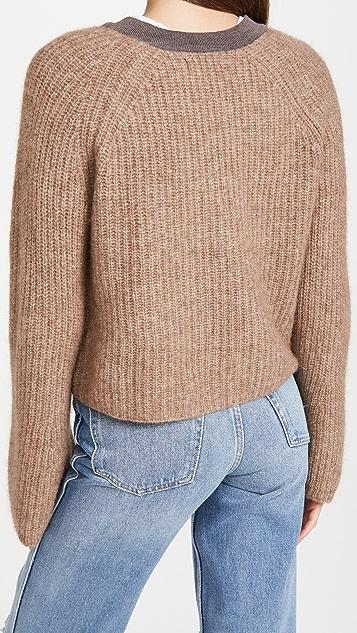 Naadam Wide Sleeve Cashmere Cardigan