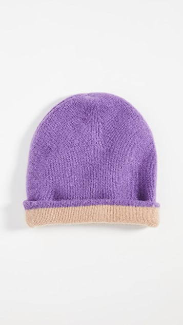 Naadam 双层开司米羊绒毛线帽