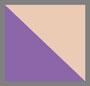紫色/驼色