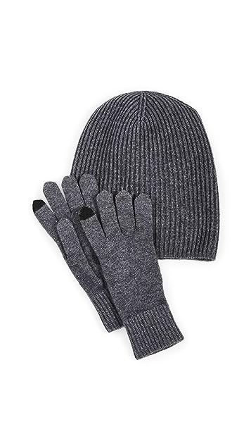 Naadam 帽子和手套套装