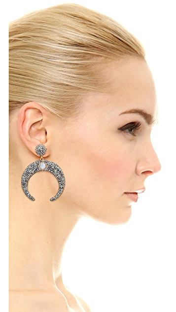 Native Gem Luna Earrings