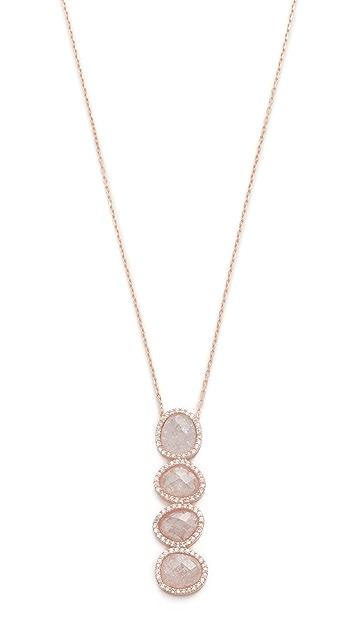 Native Gem Crystal Moonstone Revelation Necklace