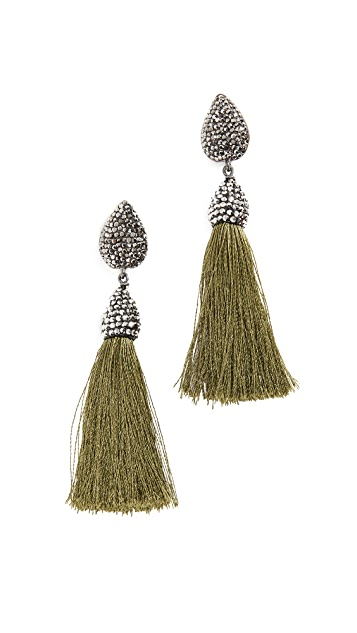 Native Gem Rocco Tassel Earrings
