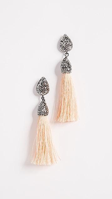 Native Gem Rocco Tassel Earrings