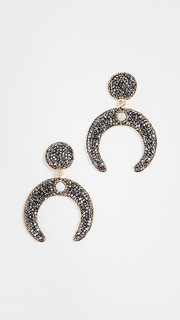 Native Gem Luna Earrings