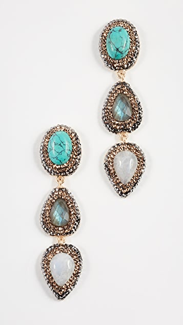 Native Gem Barbados Earrings