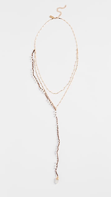 Native Gem Crosby Necklace - Pearl