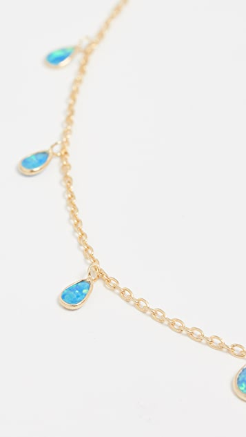 Native Gem Raindrops Necklace