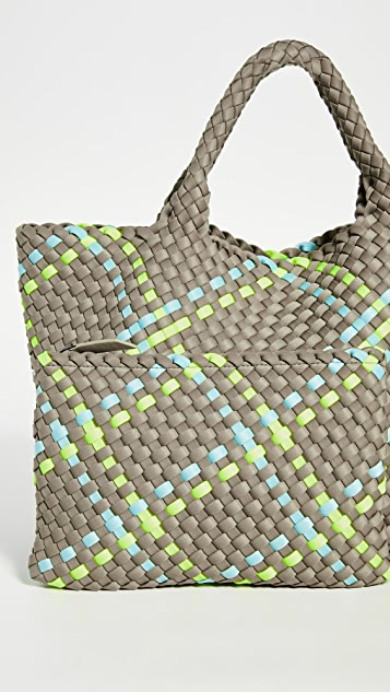 Naghedi Маленькая объемная сумка с короткими ручками St. Barths
