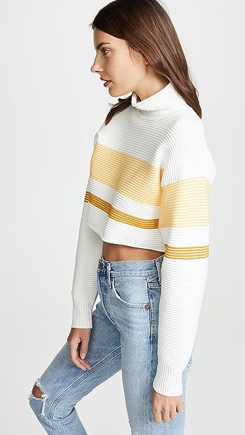 NAGNATA Cropped Retro Rob Sweater