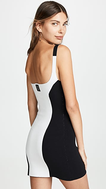 NAGNATA Colorblock Dress