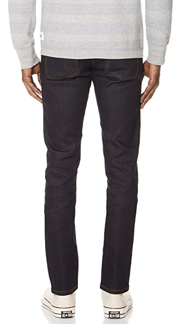 Naked & Famous Super Guy - Deep Indigo Stretch Selvedge Jeans
