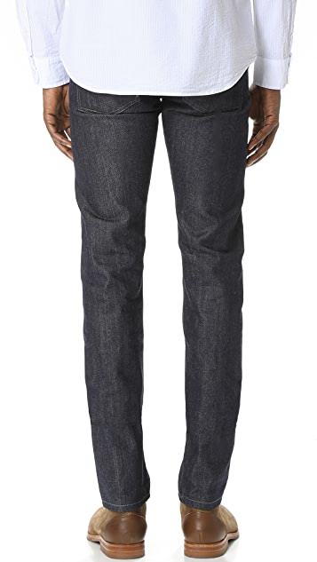 Naked & Famous Super Skinny Guy Indigo Selvedge Jeans