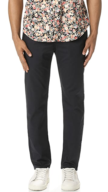 Naked & Famous Slim Chino - Navy Stretch Twill Pants
