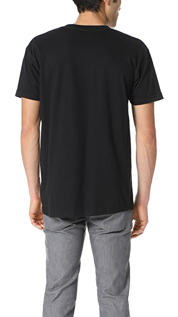 Naked & Famous Short Sleeve Circular Knit T-Shirt