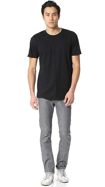 Naked & Famous Short Sleeve Circular Knit T-Shirt