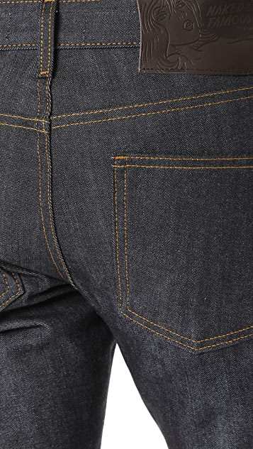 Naked & Famous Left Hand Selvedge Skinny Jeans