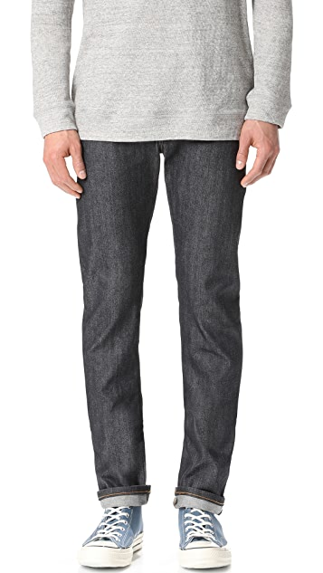 Naked & Famous Skinny Guy - Left Hand Twill Selvedge Jeans