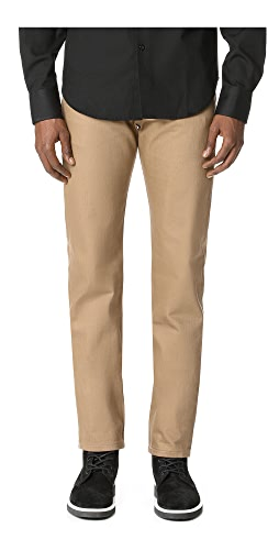 Naked & Famous - Weird Guy - Beige Selvedge Chino Jeans