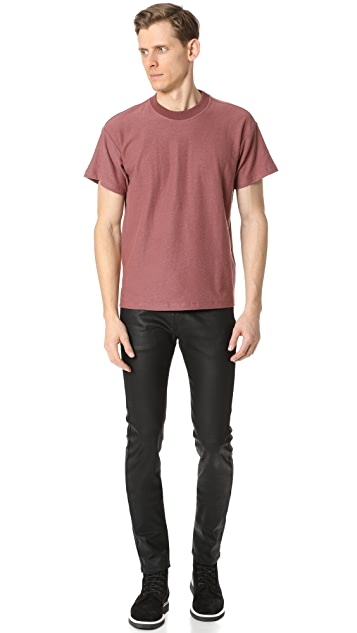 Naked & Famous Waxed Super Skinny Guy Jeans