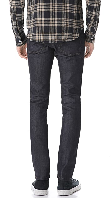 Naked & Famous Cashmere Blend Stretch Super Skinny Denim Jeans