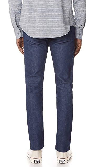Naked & Famous Workman Blue Selvedge Jeans