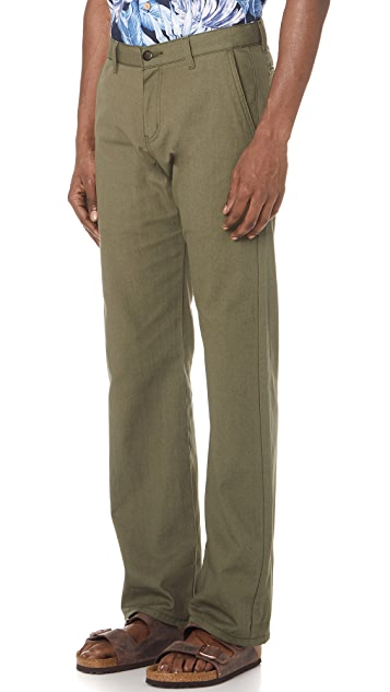 Naked & Famous Rinsed Oxford Chino Pants