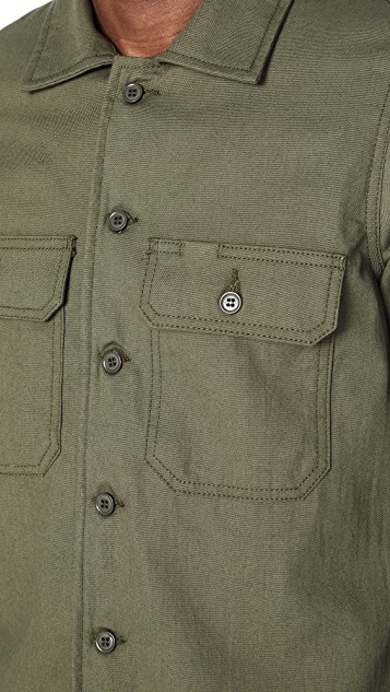 Naked & Famous Rinsed Workshirt