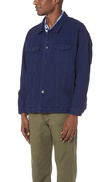 Naked & Famous Stretch Sashiko Jacket