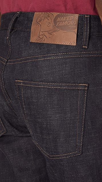 Naked & Famous Easy Guy Jeans