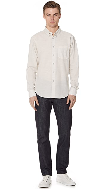 Naked & Famous Button Up Shirt