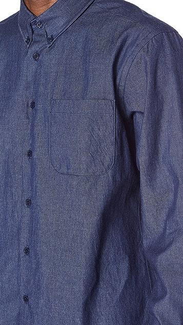Naked & Famous Indigo Denim Shirt