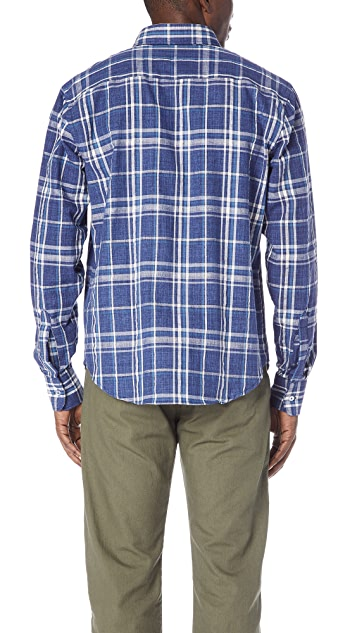Naked & Famous Regular Plaid Shirt