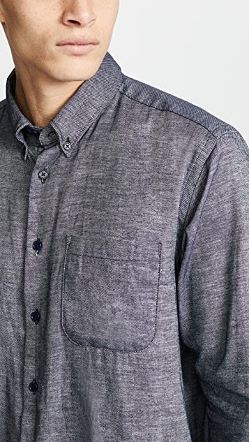 Naked & Famous Easy Shirt - Mix Twill