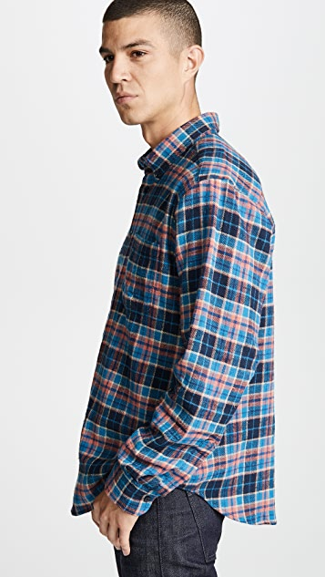 Naked & Famous Nep Check Easy Shirt