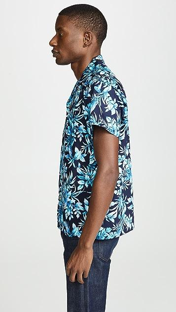 Naked & Famous Aloha Shirt - Big Tropical