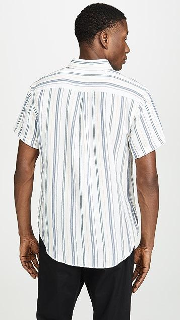 Naked & Famous Boucle Stripe Easy Shirt