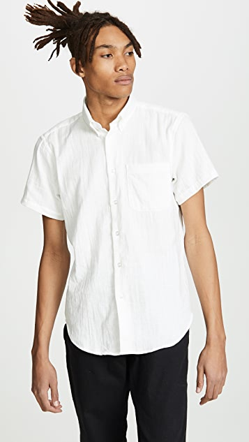 Naked & Famous Easy Shirt - Double Weave Gauze