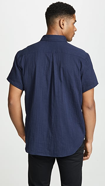 Naked & Famous Double Weave Gauze Easy Shirt