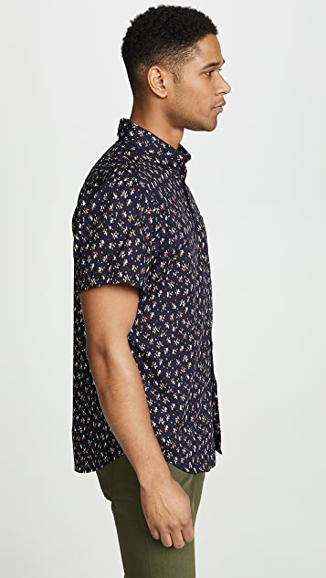 Naked & Famous Mod Print Easy Shirt