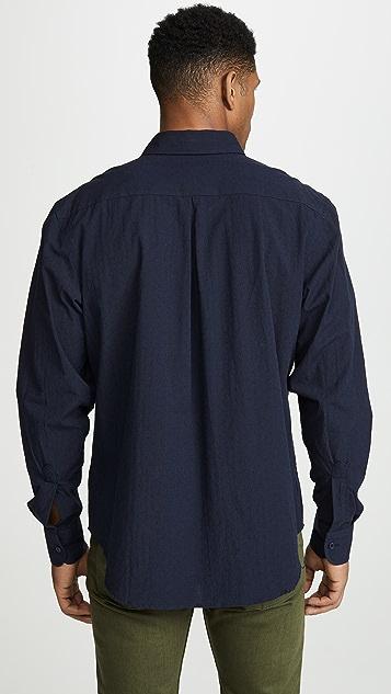 Naked & Famous Dobby Dungaree Easy Shirt