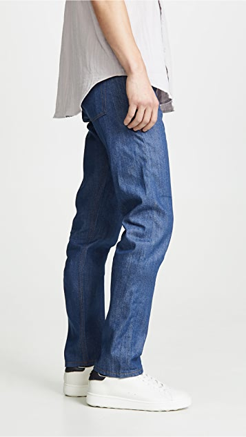 Naked & Famous Weird Guy - Clear Blue Selvedge Jeans