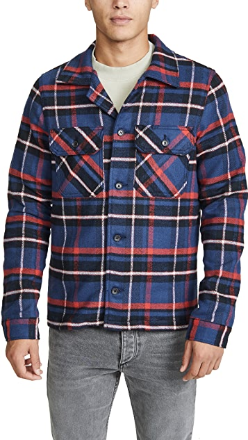 Naked & Famous Heavyweight Flannel Workshirt