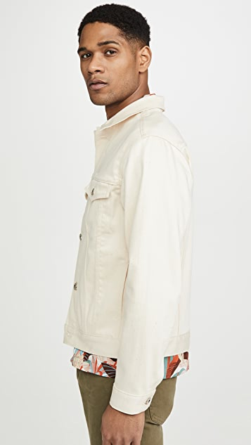 Naked & Famous Natural Seed Denim Jacket