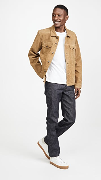 Naked & Famous Chinese New Year Metal Rat Weird Guy Jeans