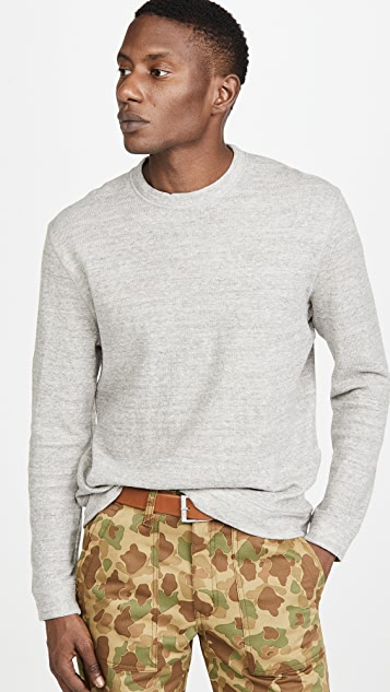 Naked & Famous Vintage Double Face Sweatshirt