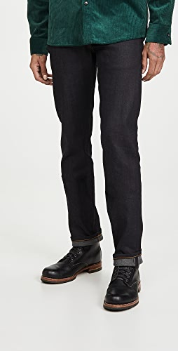 Naked & Famous - Weird Guy Denim in Deep Indigo Wash