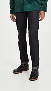 Naked & Famous Weird Guy Denim in Deep Indigo Wash